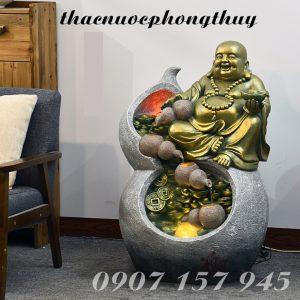 Thác nước phong thủy Phật Di Lặc